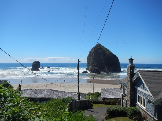 Cannon Beach, just north of Manzanita