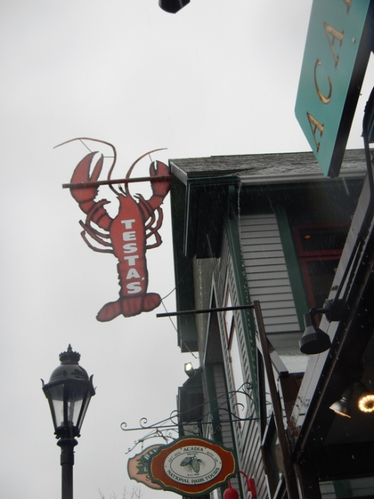 Bar Harbor's all about the lobster