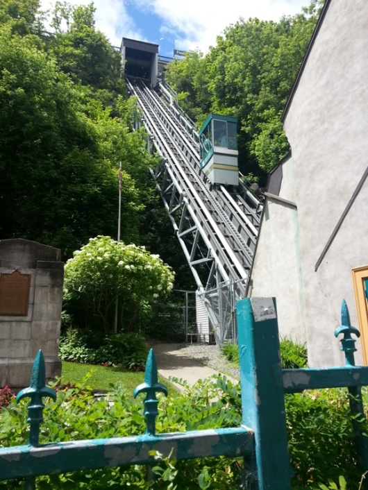 Funicular to Upper Town