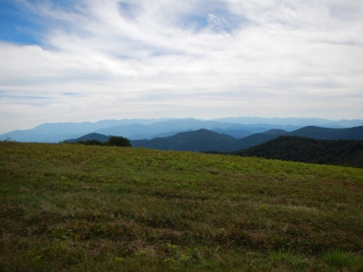The view atop Bald Mountain