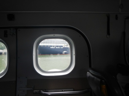 Bye, bye, Nieuw Amsterdam - hope we make it back!